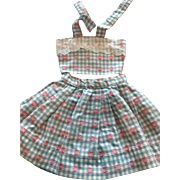 Two Piece Doll Outfit for Saucy Walker 1950s