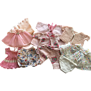 Ten Piece Layette for Dy-Dee, Tiny Tears and Friends 1950s