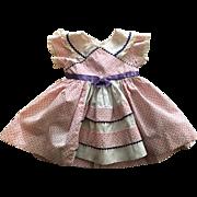 Original Ideal Saucy Walker Dress 1952
