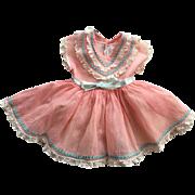 Organdy Ideal Saucy Walker Dress 1952