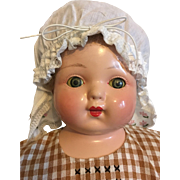 Early Acme Composition Cloth Mama Doll