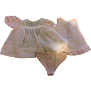 Dy-Dee Baby Dotted Swiss Dress 1950