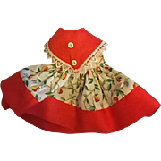 Original Dress for 12 inch Ideal Shirley Temple 1950s