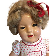 Ideal 27 inch Ideal Shirley Temple Doll 1930s