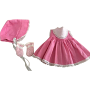 Three Piece Ideal Betsy Wetsy Outfit 1950s