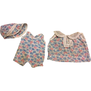 Original Three Piece Arranbee Nancy Outfit 1930's