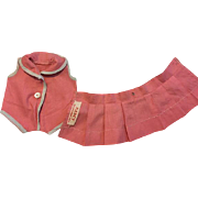 Two Piece Tagged Arranbee Outfit 1930s