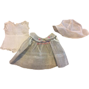 Arranbee Nancy Organdy Dress and Onesie 1930s