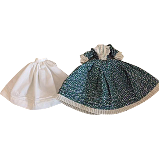 Lovely Dress and Slip for Small China Head Dolls