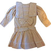 Dropped Waist dress for Bisque Dolls