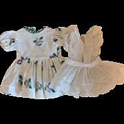 Ideal Toni Dress and Pinafore 1952