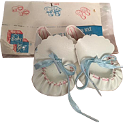 MIP Baby Gay Baby Booties 1950