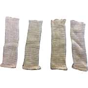 Two Pairs of Old Store Stock Rayon Doll Socks