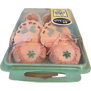 MIB Wee Kids Pink Baby Shoes Old Store Stock - Great for Dolls