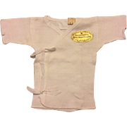 Baby Undershirt with Original Good Housekeeping Seal 1941
