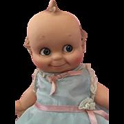 Hard to Find Blue Glassene Eyes Cameo Doll 1950s