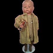 Rare Antique Uneeda Bisquit Boy 1915