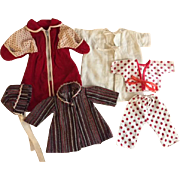 Layette Items for Dy-Dee Kin and Friends 1950s