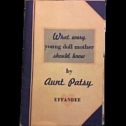 Original Dy-Dee Baby Booklet 1950