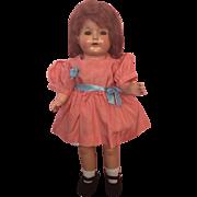 Pretty Effanbee Walk-Talk-Sleep Mama Doll 1920s