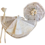 Complete Bridal Ensemble for Small Fashion Dolls 1950s