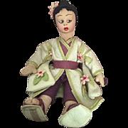 Rare Fiori Cloth Doll 1930