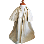 Antique Baby Cape Christening Coat Early 1900's