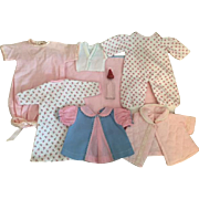 Eight Piece Layette for Dy-Dee Ellen and Friends