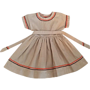 Doll Dress for Large Walkers such as Winnie or Bonnie Walker 1952