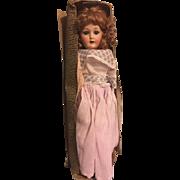 Mint in Box Antique Armand Marseille CM Bergmann COLUMBIA Doll Bisque Head Kid