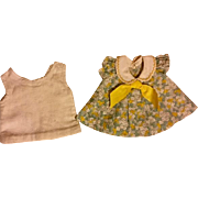 Darling Dress and Slip for Shirley Temple and Friends 1930s