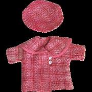 Arranbee Nancy Original Doll Coat and Tam 1930s