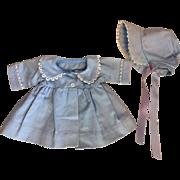 Effanbee Dy-Dee Coat and Bonnet 1950s