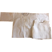 Bedjacket and Baby Shirt for Big Dolls 1900