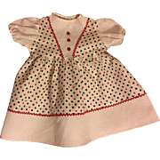 Pique and Cotton Factory 1950s Dress for Large Walkers