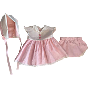 Three Piece American Character Tiny Tears Outfit 1950s