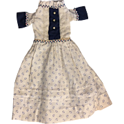 Antique Doll Dress for Bisque Dolls 1920