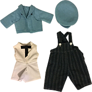 Four Piece Outfit for Bisque Boy Dolls