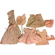 Darling Seven Piece Layette for American Character Tiny Tears 1950s