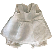 Muslin Combination Slip and Underwear for Composition Dolls 1930