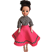 Two Piece Fashion Doll Ensemble for 20 inch Fashion Dolls such as Cissy and Dollikins
