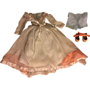 Madame Alexander Wendy Gown, Underwear, Shoes Tagged 1930s