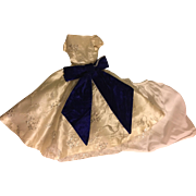 Lovely Taffeta Fashion Doll Gown 1950s