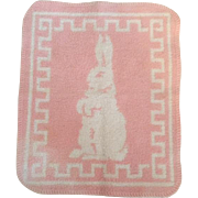 Pink Bunny Blanket and Bottle for Dy-Dee Baby and Friends
