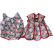Dress and Matching Chemise for Composition Dolls 1940