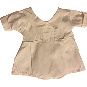 White Romper for Bisque Babies