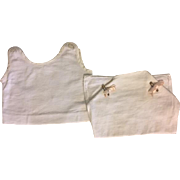 Antique Two Piece Underwear for Bisque Babies