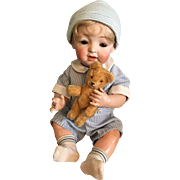 "Antique Kestner 17 l/2 inch ""Sammy"" Character Baby Doll"