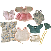 Eight Piece Layette for Dy-Dee Ette and Tiny Tears 1950s