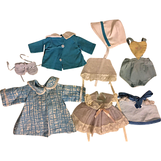 Six Piece Layette for Tiny Tears and Friends 1950s